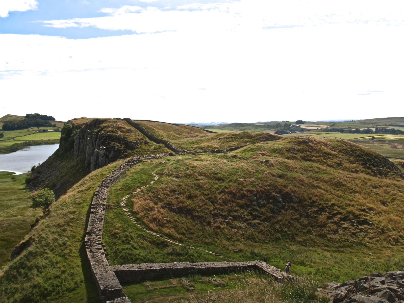 Figure 80B - Hadrian's Wall, Northumberland National Park, Great Britain