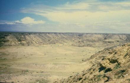 Figure 60 -Desert canyon (Namibe Desert, Angola).