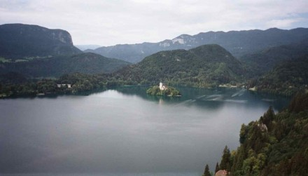 Figure 92 - Glacier lake (Bled, Slovenia).