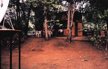 Figure 152 - The dining facilities of the opposition (Caama region, Angola).