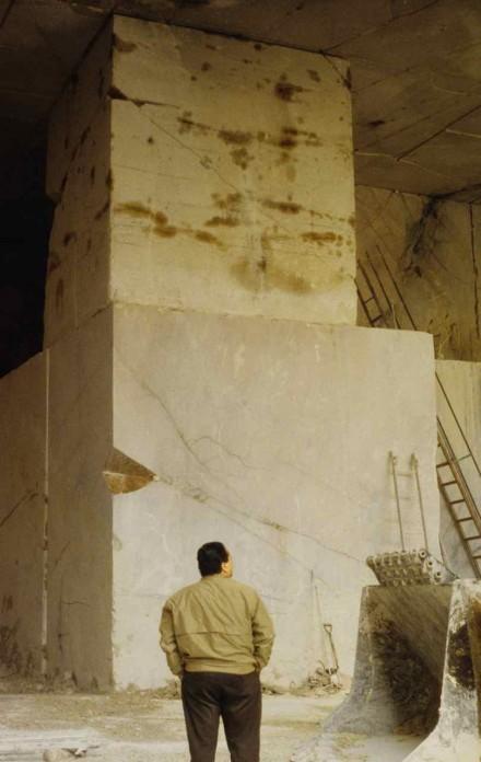 Figure 178 - Underground mining of marble (Porto Alegre region, Portugal).